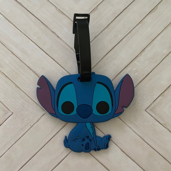 Lilo stitch funko luggage tag